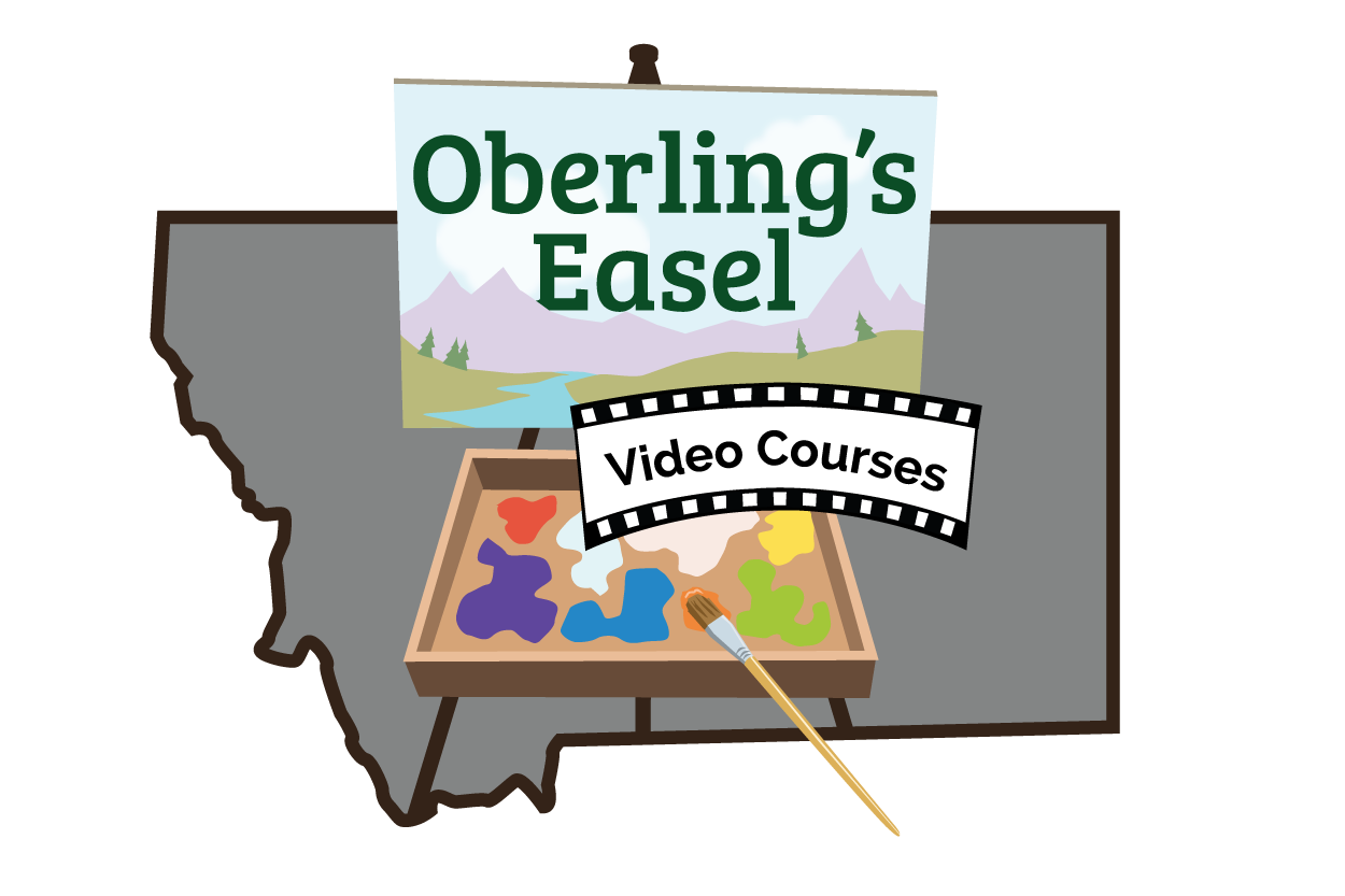 oberling's easel video courses logo